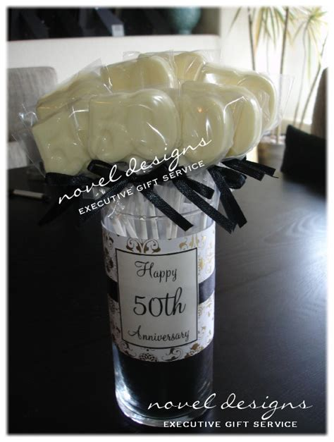 Custom Th Anniversary Cho Late Party Favors Th