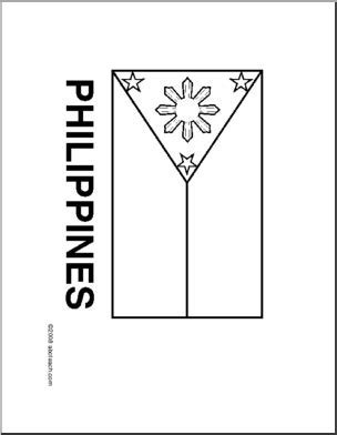 flag philippines  drawing  philippines flag  color flags pinterest flags