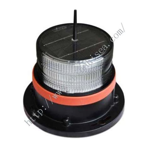 marine solar led navigation signal light marine solar led