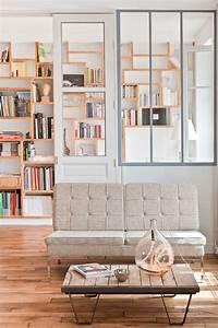 Comment Décorer Son Appartement : loft parisino minimalista de 60 m2 decoraci n del hogar ~ Premium-room.com Idées de Décoration
