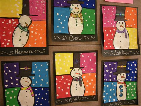 Warm/cool Snowmen Paintings Dyi Kitchen Cabinets Free Standing Cabinet Diagram Floor Diy Painting Ideas In Surrey Annie Sloan Chalk Paint For