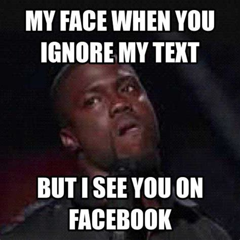Kevin Hart Text Meme - you don t want to pigeonhole yourself by kevin hart like success