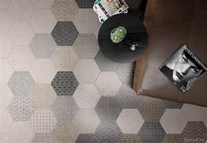 Carrelage Hexagonal Blanc : le carrelage hexagonal une tendance intemporelle jdo ~ Premium-room.com Idées de Décoration