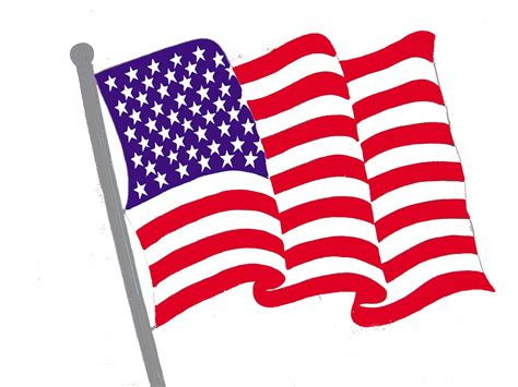Clipart American Flag Free Flag Clip Pictures Clipartix