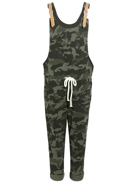 camouflage jumpsuit womens camouflage jumpsuit dungaree camo loungewear
