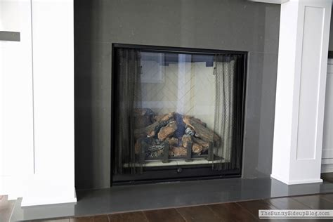 quartz fireplace surround our formal living room blank slate the side up