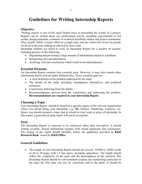 Report Writing Template Free
