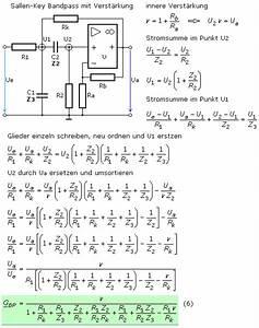 Bandpass Gehäuse Berechnen : aktive elektrische rc filter ~ Themetempest.com Abrechnung