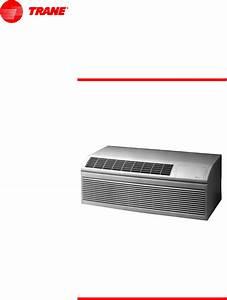 Trane Air Conditioner Ptec1201gca User Guide