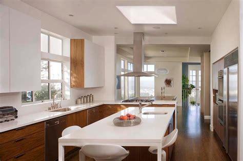 cuisine deux couleurs couleurs agréable pour une cuisine déco moderne et