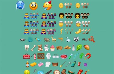 Even Before Ios 12 Launches, Candidate Emojis For 2019
