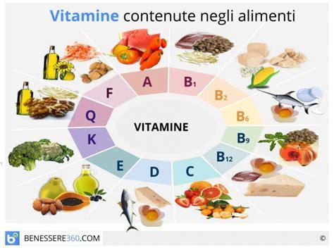 alimenti con vitamine e vitamine funzioni e tabella degli alimenti guida completa