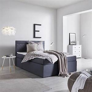 Nachttisch Für Boxspringbett Anthrazit : boxspringbett rosa 140x200cm inkl topper online kaufen m max ~ Michelbontemps.com Haus und Dekorationen