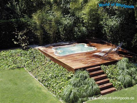 Whirlpools Für Den Garten by Eingelassene Whirlpools Whirlpools Nrw F 252 R Den Garten