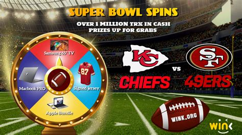Super Bowl Spins Wink Promotion 27th January 0700 Utc