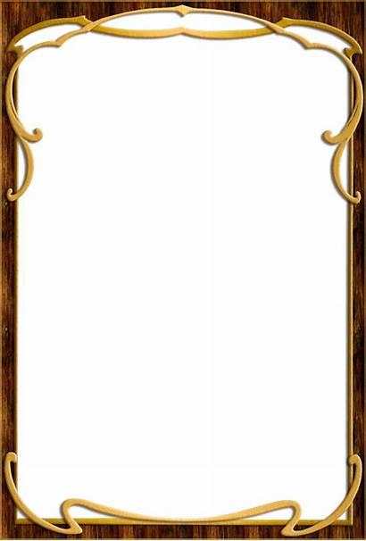 Frame Wood Frames Format Coffee Transparent Background
