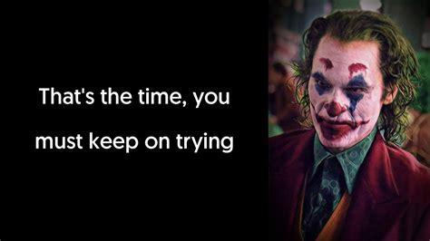 jimmy durante smile lyrics video song  joker