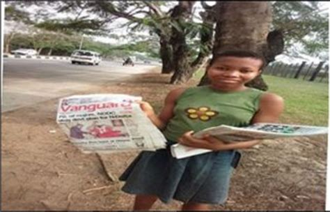 Meet 12 Year Old Nigerian Girl Who Sells Newspapers To Pay