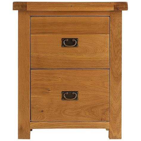 emporium home montreux solid oak filing  drawer filing