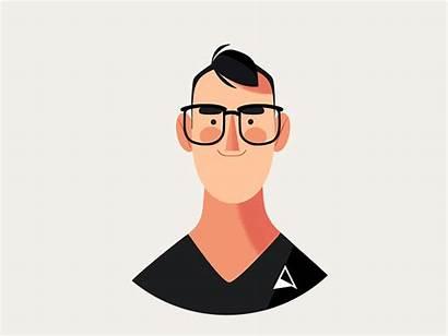 Hi Say Ceo Illustration Flat Character Animation