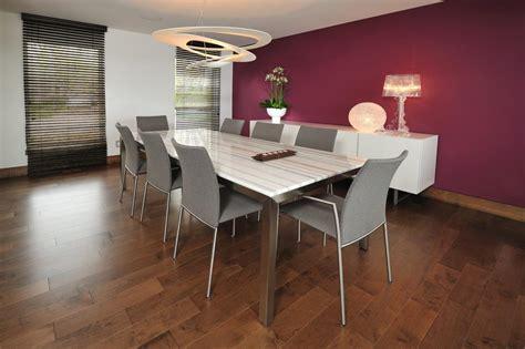 salle 224 manger avec table rectangulaire blanche marbr 233 e