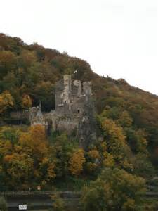 Castles along Rhine River Germany