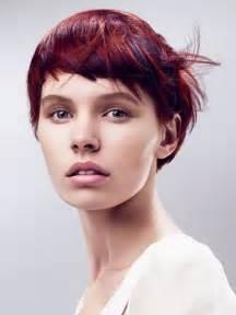 Asymmetrical Short Hairstyle Ideas