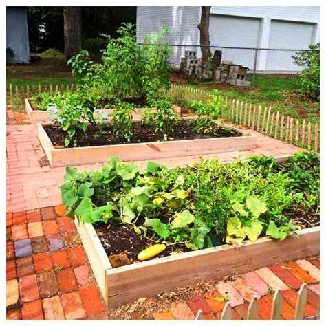 how one family built a raised vegetable garden for less