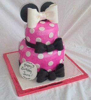 adorable minnie mouse cake  smash cake   red