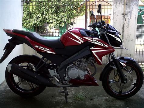 Modif Striping New Cb150r Hitam Merah by Modif Striping New Vixion Merah Lighting Style Motoblast