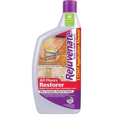 Rejuvenate Floor Cleaner Sds by Rejuvenate 32 Oz Floor Restorer And Protectant Rj32f
