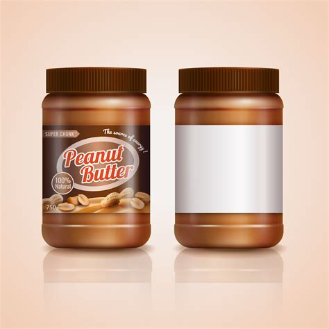 Find & download free graphic resources for peanut butter jar. Peanut butter jar mockup - Download Free Vectors, Clipart ...