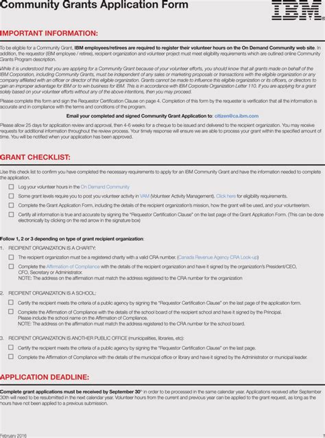 writing  grant application  samples templates