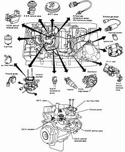 I Am Working On A 1991 Nissan Pickup With A 4 Cyl  Engine