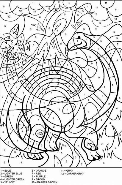 Number Adults Coloring Worksheets Pages Abstract Deviantart