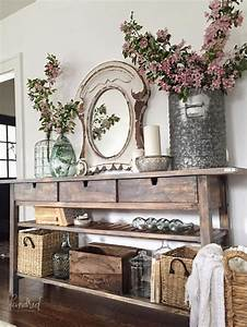 Enchanting Farmhouse Entryway Decorations For Your ...