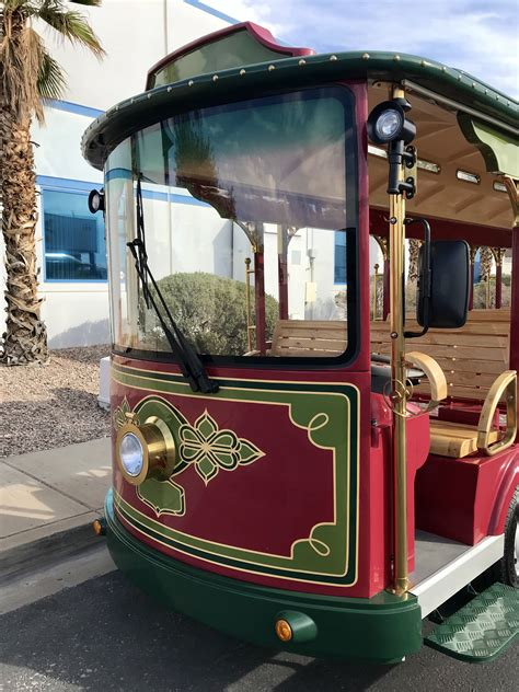 Electric Trolley - Specialty Vehicles