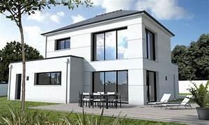 maison sur mesure morbihan depreux construction With photo de maison contemporaine