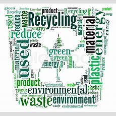 Word Cloud Of Recycle Bin  Stock Photo Colourbox