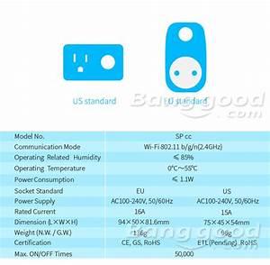 Broadlink Sp3 Spcc Contros Mini Wifi Smart Home Socket