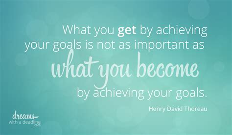 becoming great by achieving goals dreams with a deadline