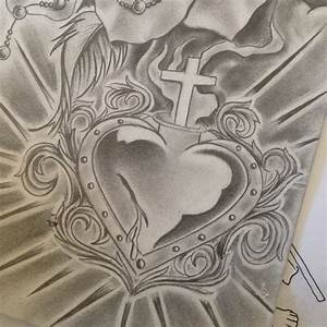 #sacredheart #religious #cross #crosses #smoke #lightrays ...