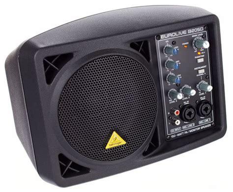 behringer b205d powered monitor pa speaker getinthemix