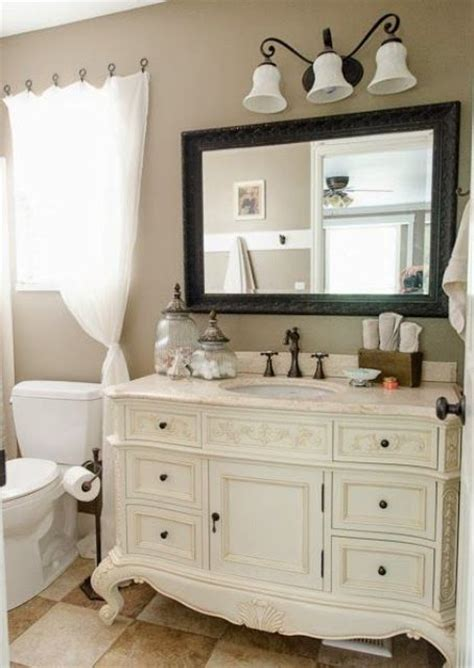 how to shabby chic bathroom vanity 29 vintage and shabby chic vanities for your bathroom digsdigs