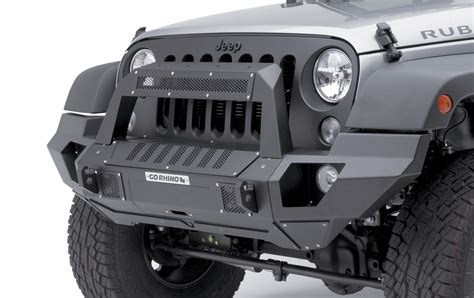 Go Rhino 230120101t Front Bumper With Full End Caps And