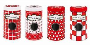 Pots à épices : set 4 pots pices epicerie ~ Teatrodelosmanantiales.com Idées de Décoration