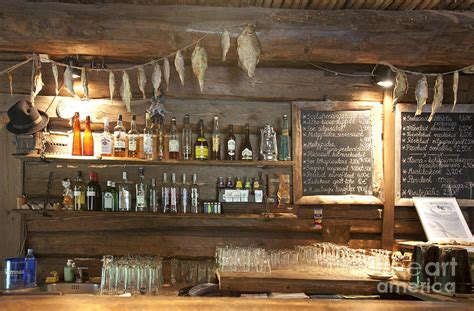 home interior design app bar with a rustic decor photograph by jaak nilson