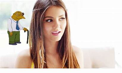 Victoria Justice Enjoys Pain Side Animated Nation