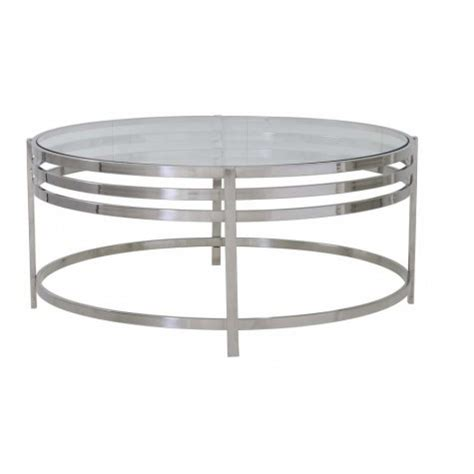 couchtisch rund glas couchtisch rund silber glas metall couchtisch glas rund verchromt durchmesser 103 cm