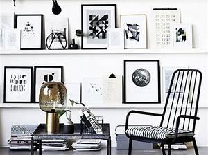 Cadre Deco Noir Et Blanc : le noir et blanc le nouveau duo gagnant elle d coration ~ Melissatoandfro.com Idées de Décoration